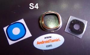 Samsung S4 Kamera Cam ve Çerçevesi