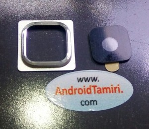Samsung S5 Mini Kamera Camı