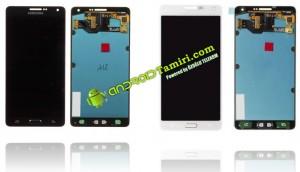 Galaxy A7 Ekran