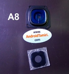 Samsung A8 Kamera Cam ve Çerçevesi