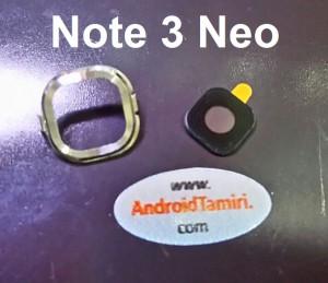 Samsung Note 3 Neo Kamera Cam ve Çerçevesi
