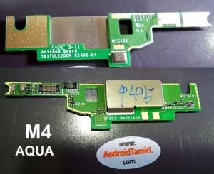 Xperia M4 Aqua Mikrofon Bordu