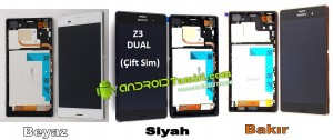 Xperia Z3 Dual Ekran-Panel