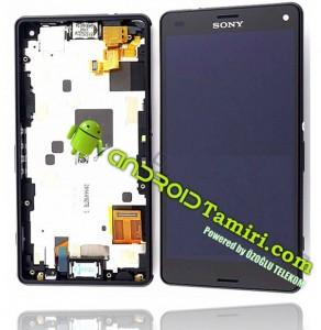 z3 compact siyah ekran