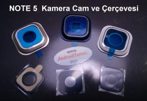 Galaxy Note 5 Kamera Cam ve Çerçevesi